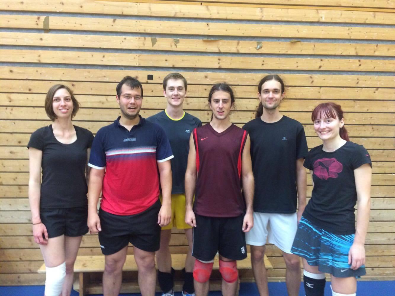 2. místo: Volejbalová grupa