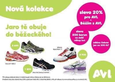 Na turnajích AVL a v našem e-shopu www.eshop.avlka.cz si už pořídíš jarní  kolekci běžeckých bot Mizuno a Asics. Pro hráče AVL a účastníky Běžím s AVL  sleva ... 144f08d59d