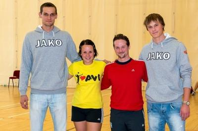 Extraligová hvězda Dukly Liberec a reprezentační smečař Tomáš Hýský se  přišel podívat 7d4e681b81